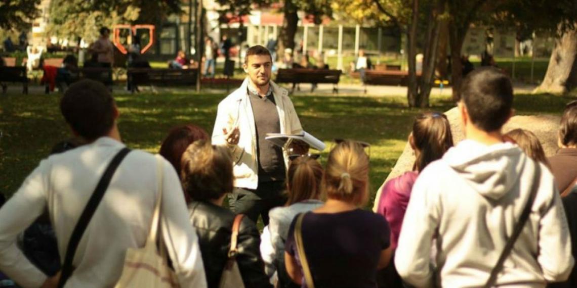 Разходка из литературна София