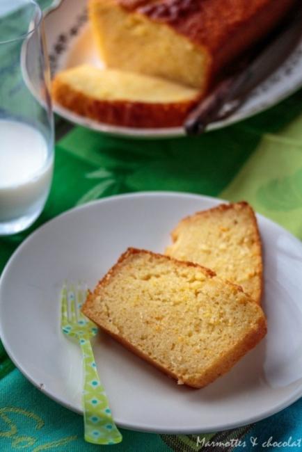 Вкусът на Франция: Портокалов кейк със зехтин