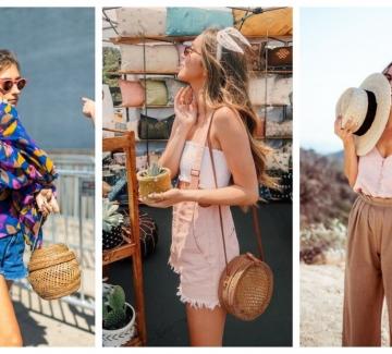 Как да носим чанта от бамбук: 23 стайлинг идеи