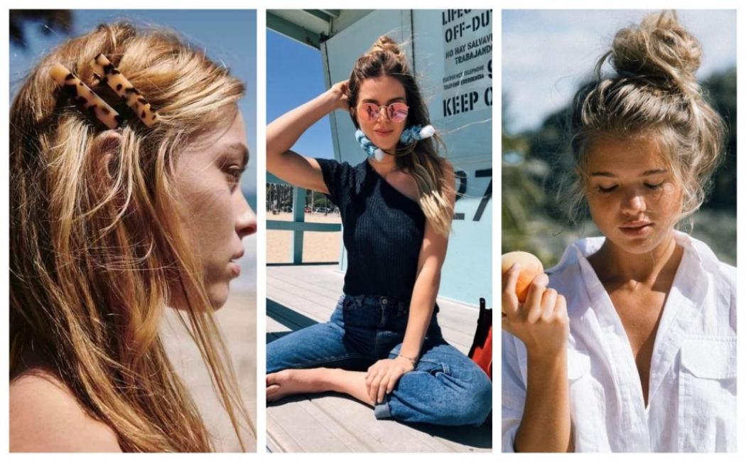 18 небрежни прически за лятото