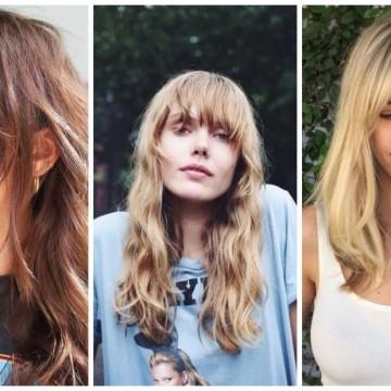 12 лесни прически, когато бретонът израства