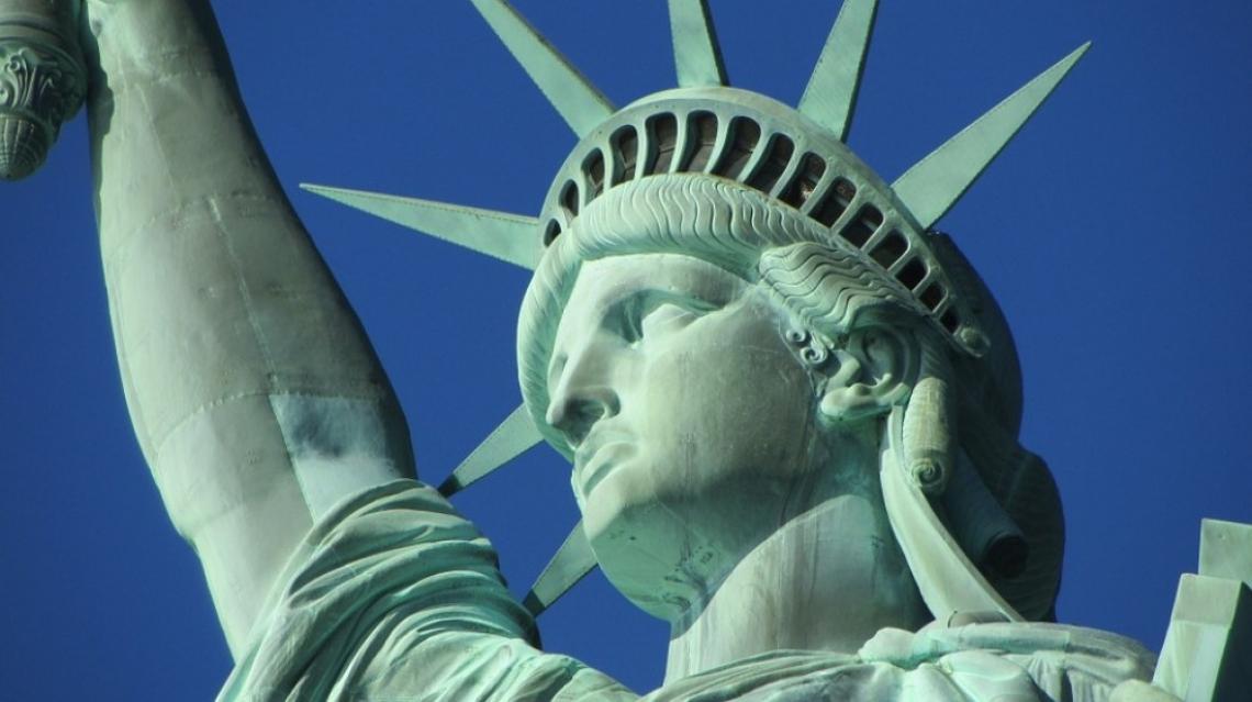 От 134 години Свободата озарява света