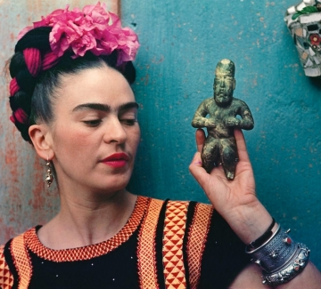 Чуйте единствения запис на гласа на Фрида Кало