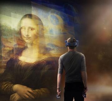 Виртуална Мона Лиза ще посреща зрителите в Лувъра