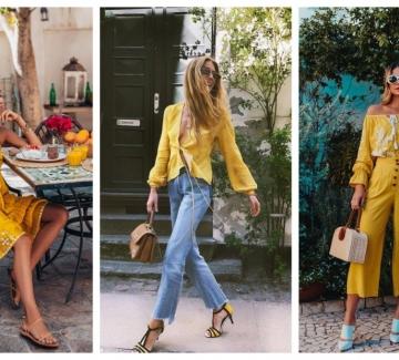 27 стайлинг идеи за слънчеви момичета в жълто