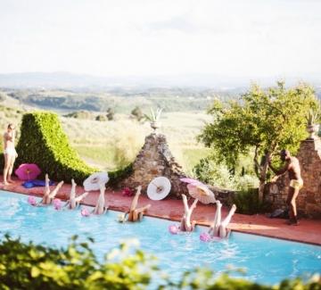 18 снимки от сватба в Тоскана като никоя друга!