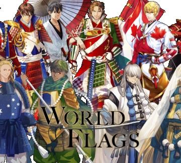 Японски художници изобразиха страните участнички в Олимпиадата като аниме-персонажи