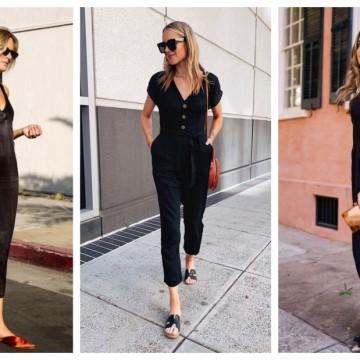 26 стайлинг идеи как да носим черно през лятото