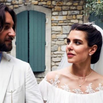 Какво облече Шарлот Казираги за втората си сватба?