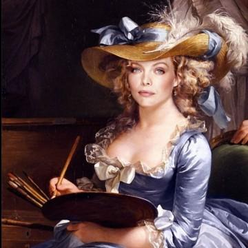 Звездите на Холивуд като музи на Ренесансовото изкуство