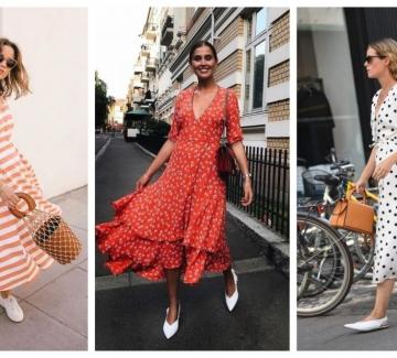 24 миди рокли, които не спираме да носим