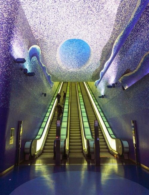 Най-красивите метростанции в света!