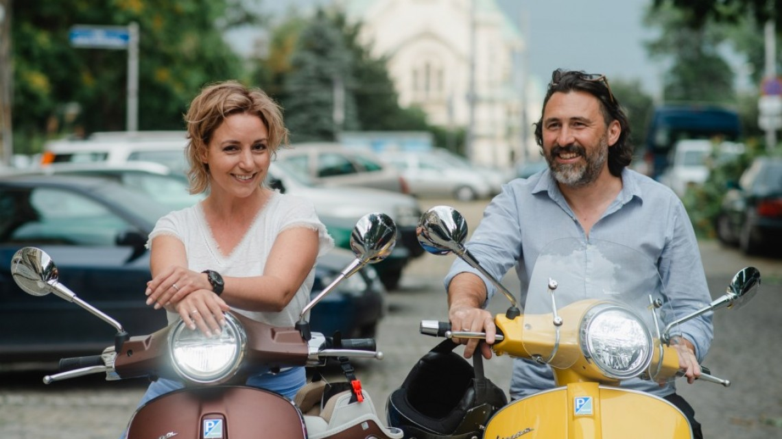 За любовта и Vespa-та: Александра и Борислав Петкови