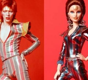 Барби почете Дейвид Боуи с колекционерска кукла