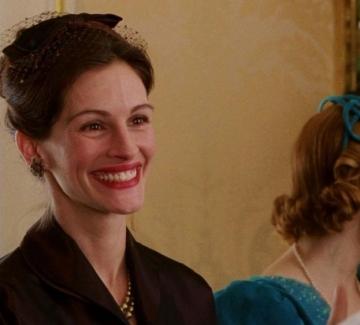 """Джулия Робъртс в """"Усмивката на Мона Лиза"""""""