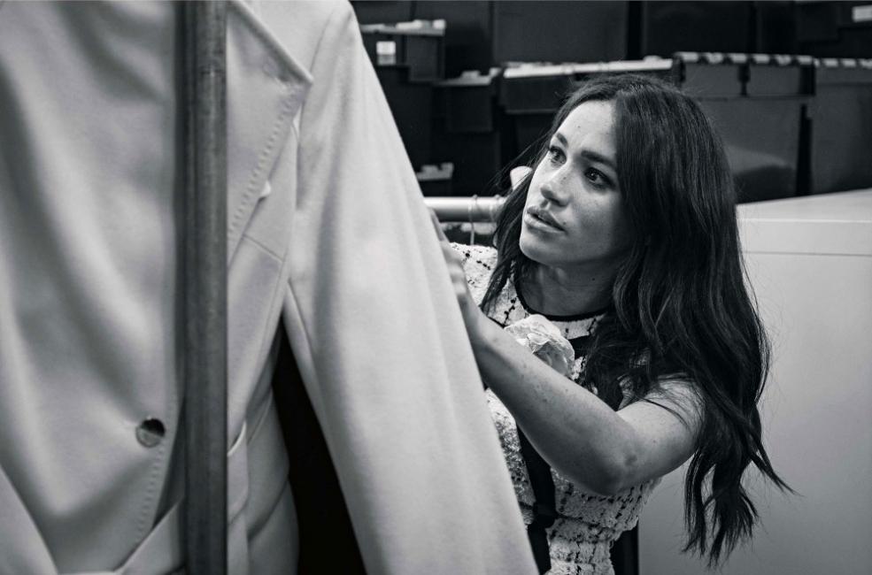 Какво прави Меган Маркъл като гост-редактор на Vogue?