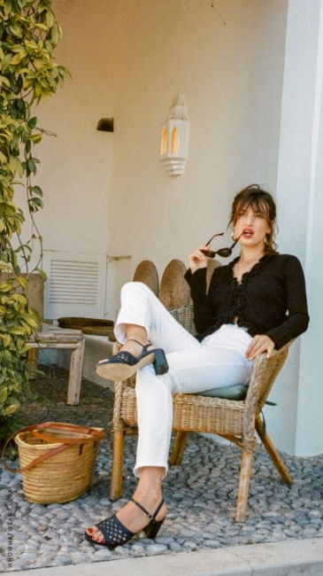 29 стайлинг идеи, вдъхновени от стила на парижанката Жан Дамас