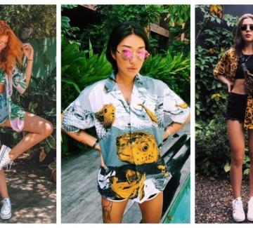 28 стайлинг идеи как да носим цветна лятна риза
