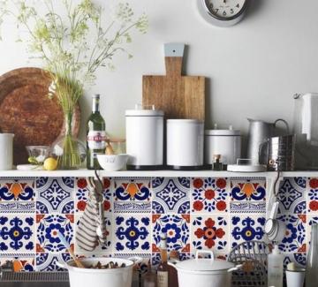 24 идеи, с които да внесете цвят в кухнята