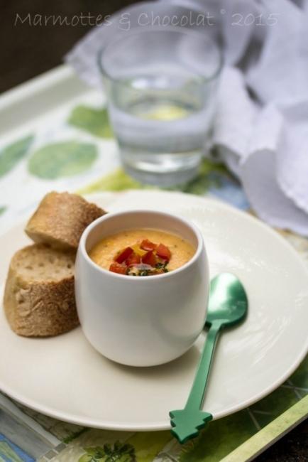 Вкусът на Франция: Студена доматена супа