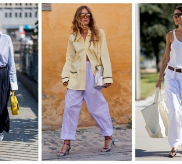 26 стайлинг идеи как да носим широк панталон през лятото