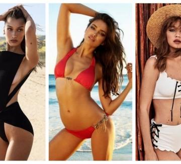 """Какви модели бански """"разходиха"""" звездите по плажа?"""