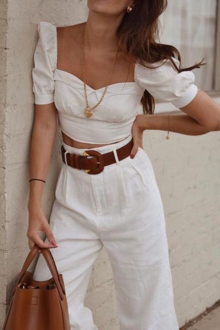 24 стайлинг идеи с най-романтичната блуза това лято
