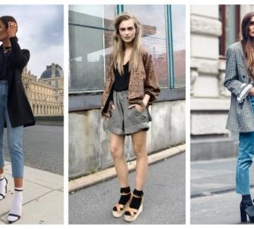 Отново тренди тази есен: Сандали с чорапи