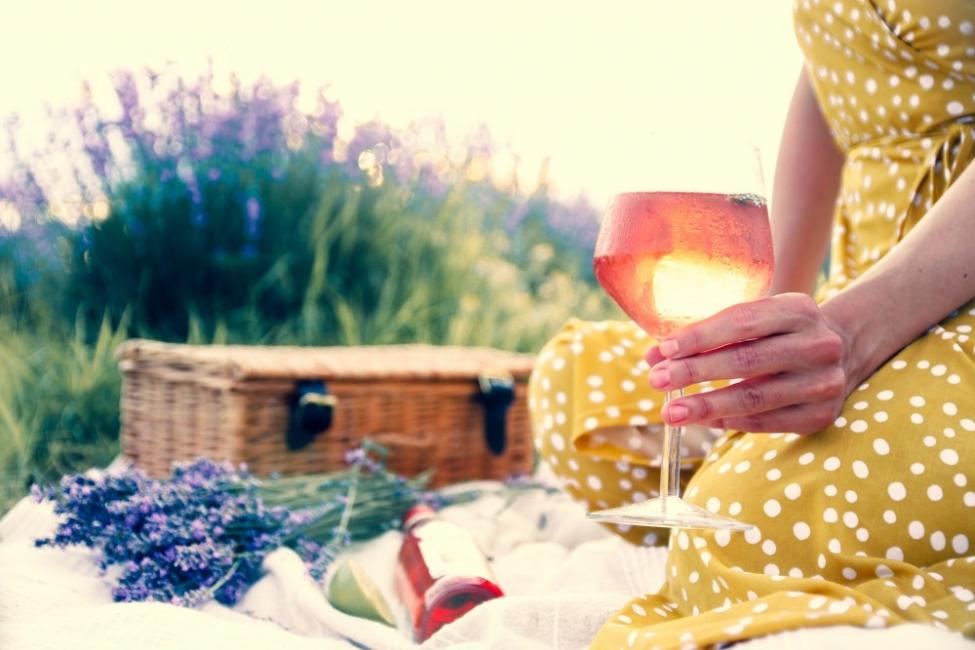 Лято в чаша с коктейл Calmnessby