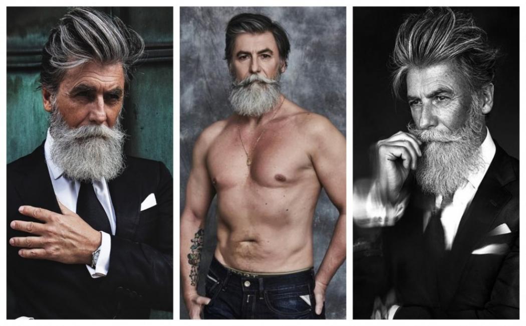 Когато мъжете остаряват красиво