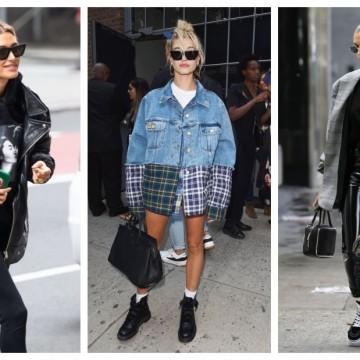 31 идеи от стила на Хейли Бийбър: изкуството да носим oversize