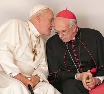 Антъни Хопкинс и Джонатан Прайс в надпревара за Ватикана