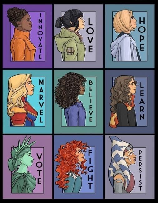 Жените вдъхновителки през погледа на Карън Халиън