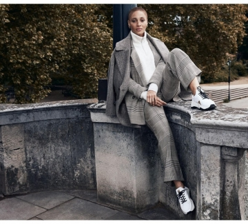Находка на деня: Костюм от рециклиран полиестер на H&M