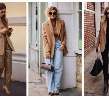 26 стайлинг идеи как да носим блейзър в camel