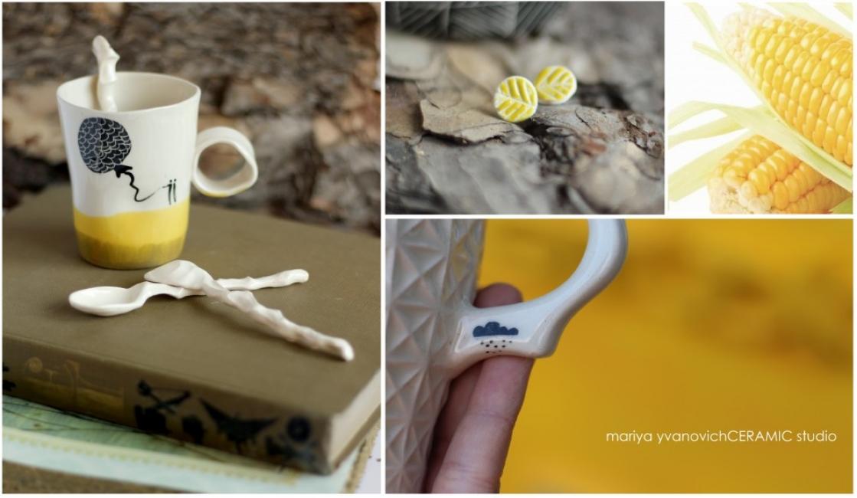 Една пъстра есенна серия авторска керамика