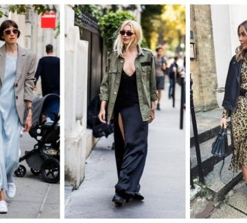 24 стайлинг идеи с пет основни комбинации от рокля и яке