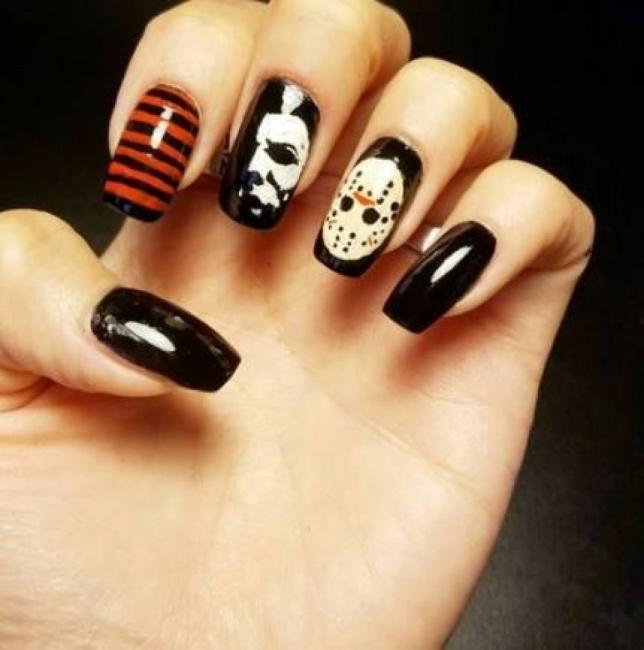 24 идеи за маникюр за Хелоуин