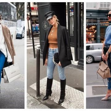 21 стайлинг идеи как да носим skinny jeans