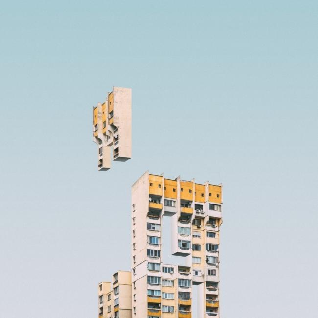 """""""Градски тетрис"""" или как грозните панелки могат да бъдат забавни"""