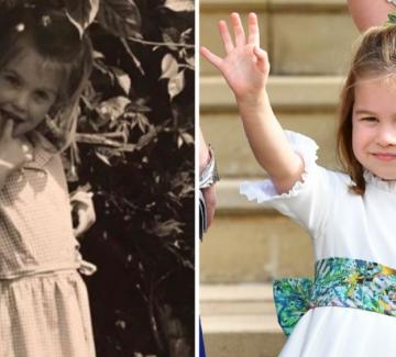 Принцеса Шарлот и лейди Кити Спенсър – като две капки вода
