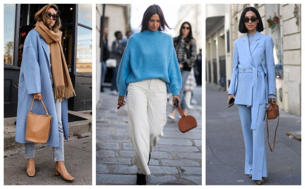 26 стайлинг идеи как да носим синьо и в студените дни