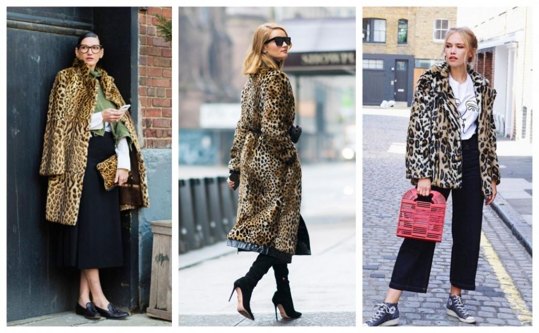 21 стайлинг идеи как да носим леопардово палто