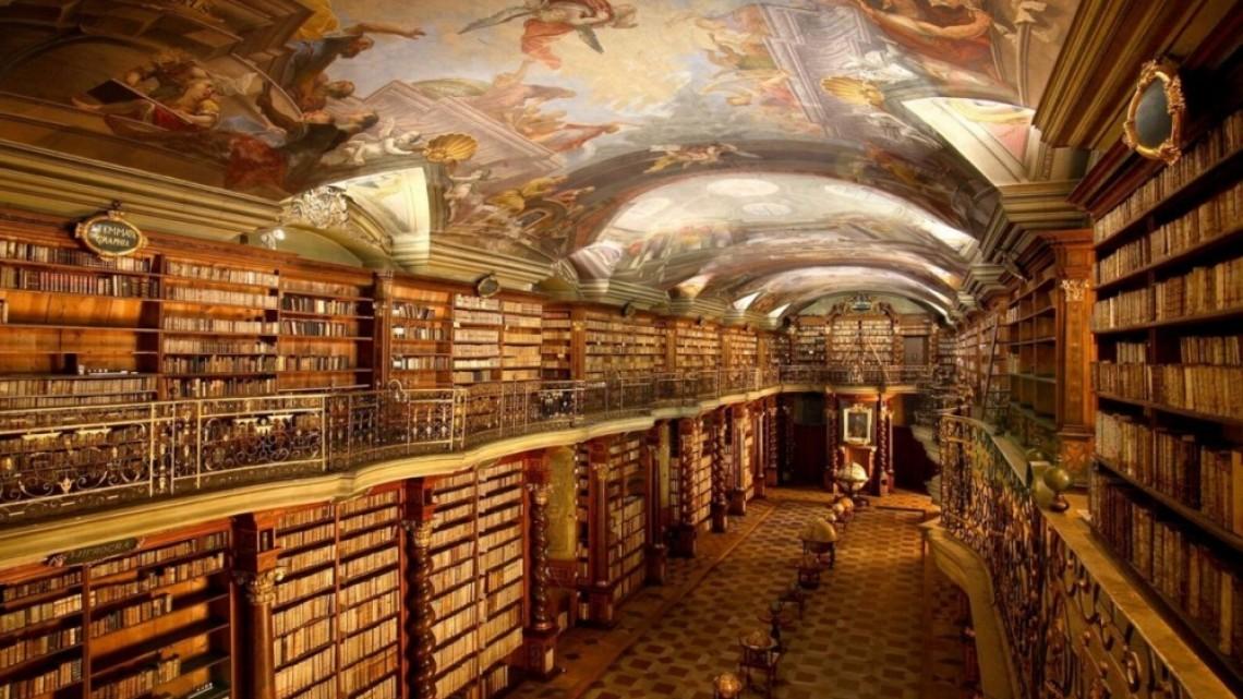Това ли е най-красивата библиотека в света?