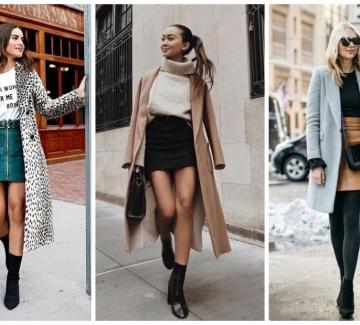 29 стайлинг идеи как да носим пола с палто
