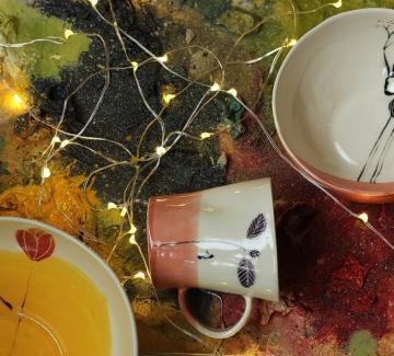 Коледният дух в керамиката на Мария Йованович