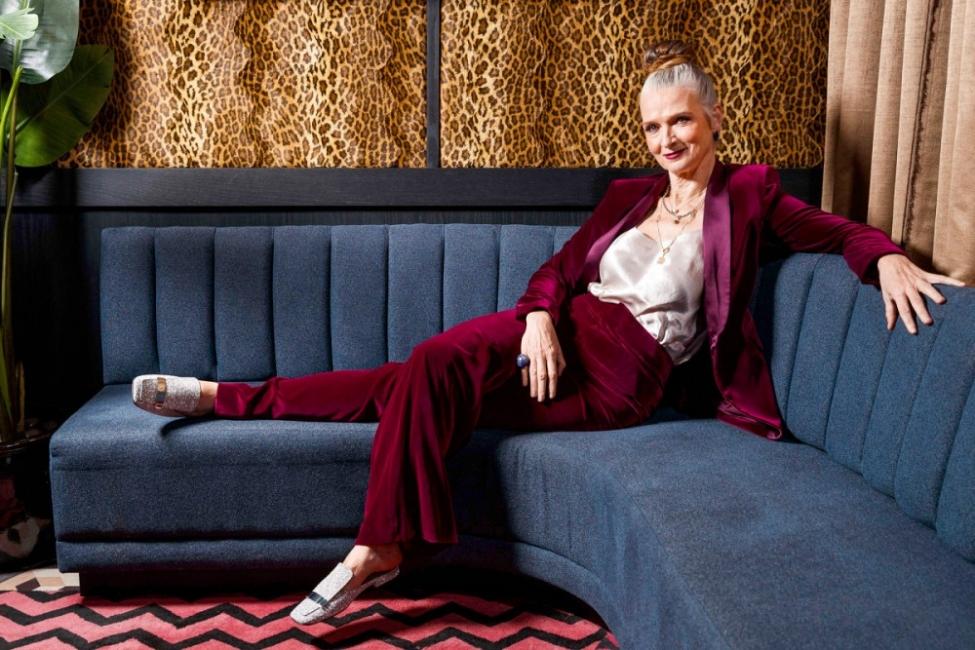 Джанис Уилкинс: как се става модел на 63