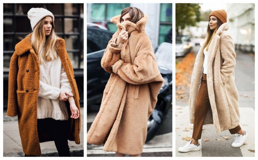 28 стайлинг идеи как да носим модерното teddy bear палто