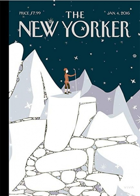 25 корици, с които The New Yorker отбелязва снежния сезон