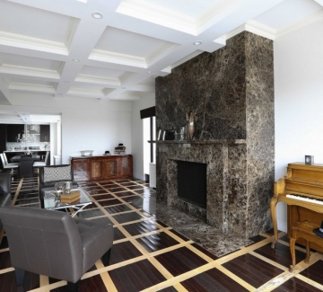 В дома на Франк Синатра в Ню Йорк